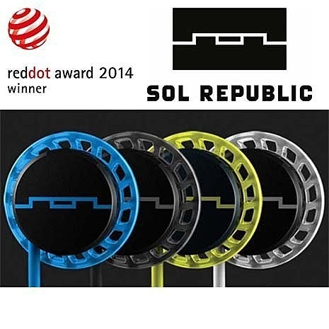 平廣 SOL REPUBLIC Relays 耳機 防潑水運動 iPhone iPod 線控通話 限量出清 有線版
