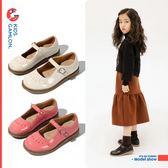 女童鞋子春季新款韓版公主鞋軟底兒童演出鞋黑色皮鞋時尚單鞋 BBJH