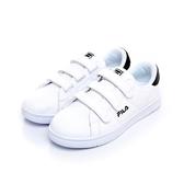 FILA #CourtDeluxe VELVET 女性潮流復古鞋-絲絨黑 5C905S100