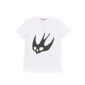 【Alexander Mcqueen】SWALLOW燕子 短袖TEE(XS) (白色) 277605RH88/9000