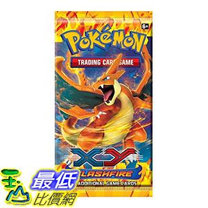 [美國直購] 1 x Pokemon XY - Flashfire Booster Pack
