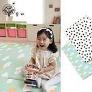 里和家居 l 韓國GGUMBI/DreamB 雙面兒童遊戲地墊-雲朵/點點