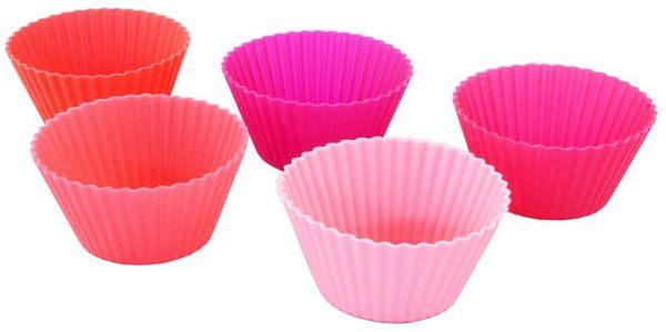 【日本Sugar Land】歡樂午餐 食物分隔杯/矽膠杯_圓型波紋5入~便當/點心/副食品✿桃子寶貝✿