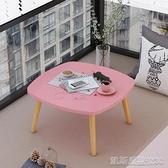 桌子小桌子茶幾茶桌客廳家用小戶型圓形花幾飄窗迷你圓桌簡約邊幾茶臺 凱斯盾