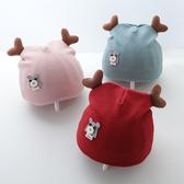 新生幼兒帽子3春秋季胎帽0-6個月12嬰兒純棉初生薄款秋冬季女寶寶