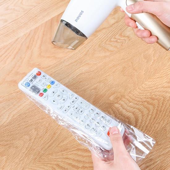 ✭慢思行✭【P182】遙控器保護膜(5入) 透明防塵 熱收縮 保護套 電視 DIY 防污 吹風機 空調多功能