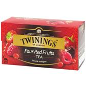 唐寧茶【Twinings】四紅果茶(2gx25入茶包)