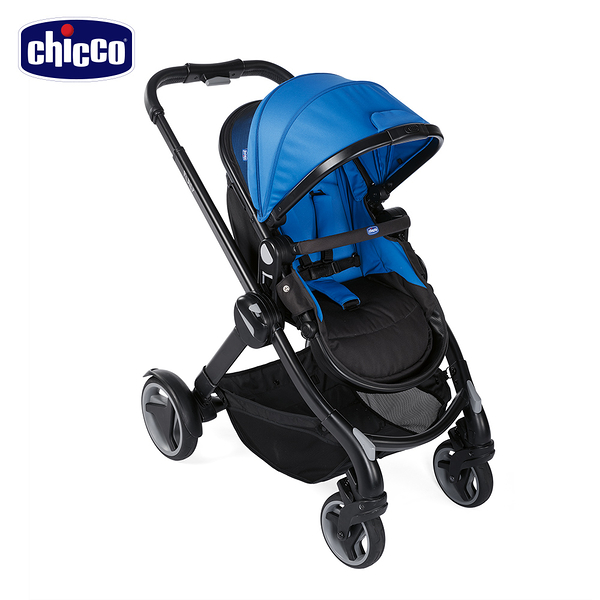 chicco-Fully智能變幻雙向手推車-盛夏藍