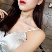 歐美金色性感隱形頸練鎖骨練女 易樂購生活館