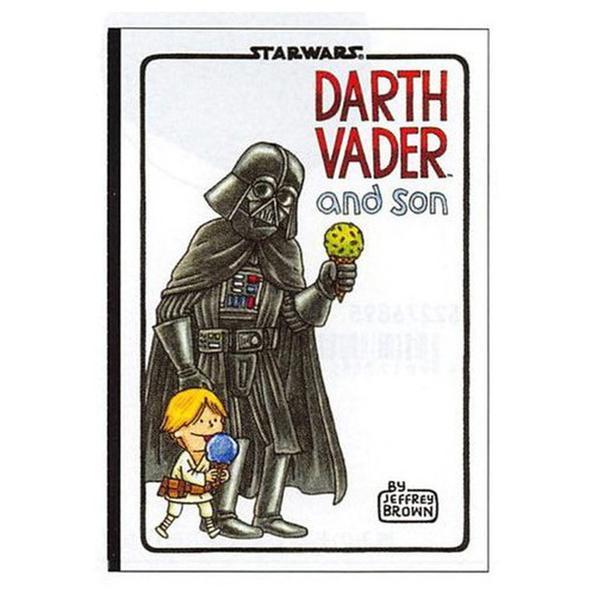 《sun-star》星際大戰 A5筆記本 達斯維達與兒子(冰淇淋)_UA54327