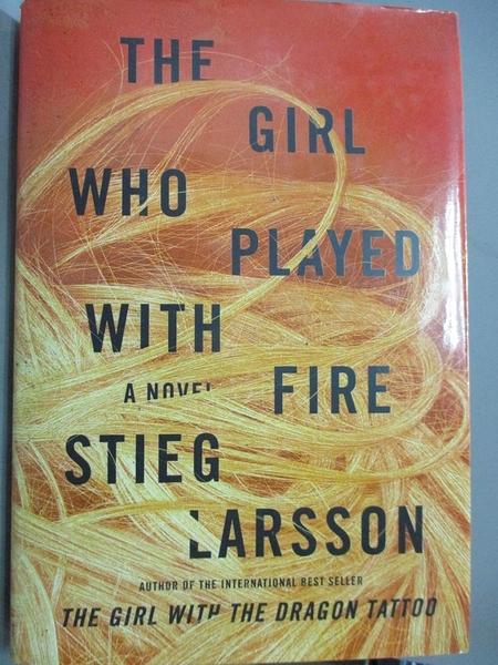 【書寶二手書T2/原文小說_JDB】The Girl Who Played With Fire_Larsson, Stieg/ Keeland, Reg (TRN)