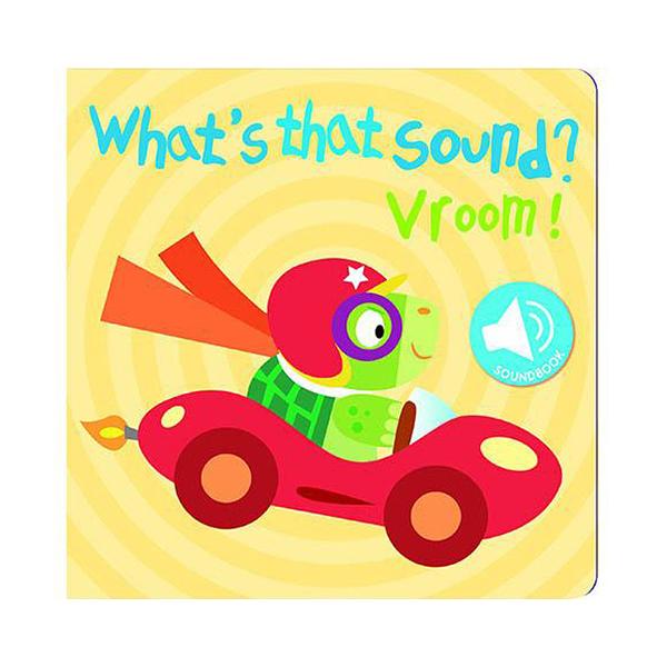 What''s That Sound? Vroom! 交通工具篇 硬頁音效書