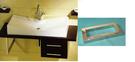 【麗室衛浴】方形不鏽鋼鐵架 30*20cm 支撐面盆或檯面