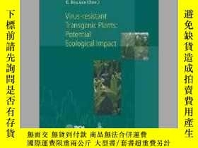 二手書博民逛書店Virus-Resistant罕見Transgenic Plants: Potential Ecological