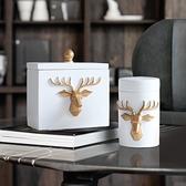 多功能牙簽盒家用客廳可愛牙簽筒北歐餐廳棉簽盒創意便攜式牙簽罐 創意空間