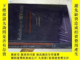 二手書博民逛書店Radiology罕見of HIV AIDS 艾滋病毒 艾滋病放