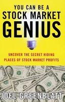 二手書《You Can Be a Stock Market Genius: Uncover the Secret Hiding Places of Stock Market Profits》 R2Y 0684840073