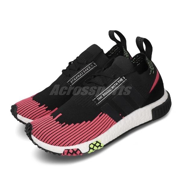 【海外限定】adidas 休閒鞋 NMD_Racer PK 黑 紅 女鞋 男鞋 運動鞋 【ACS】 BD7728