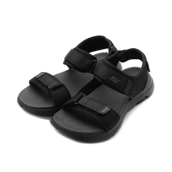 SKECHERS ON THE GO WALK5 健走涼鞋 黑 229003BBK 男鞋