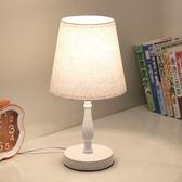 檯燈簡約現代歐式臥室裝飾喂奶小檯燈創意觸摸遙控婚房兒童床頭燈【雙十一狂歡】