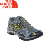 【The North Face 美國 男款 GTX 低筒健行鞋/灰綠】3ATH/防水透氣/耐磨登山鞋/越野鞋/健行鞋
