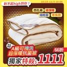 棉被 / 雙人【A級可機洗超保暖抗菌被】...
