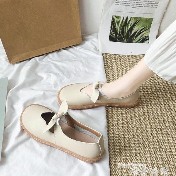 娃娃鞋小皮鞋女韓版百搭夏天新款平底網紅可愛軟底娃娃鞋INS單鞋潮 時尚新品