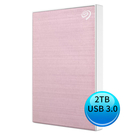 (2019新款)Seagate Backup Plus Slim 2TB USB3.0 2.5吋 外接硬碟 玫瑰金 STHN2000405