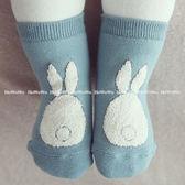 寶寶襪 小兔防滑短襪 嬰兒襪 童襪0-4歲 CA1184 好娃娃