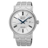 SEIKO Premier 日期顯示機械錶/白面/4R35-01C0S(SRPA17J1)