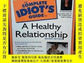 二手書博民逛書店The罕見Complete Idiot s Guide(R) t
