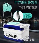競技多功能釣箱耐用加厚可坐可調節臺釣箱新款便攜垂釣漁具 js3686『科炫3C』