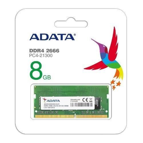 威剛 筆記型電腦記憶體 【AD4S266638G19-R】 DDR4-2666 8GB CL19 新風尚潮流