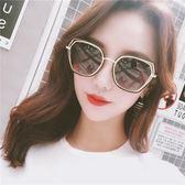 新款墨鏡潮女潮圓臉偏光太陽鏡眼鏡款