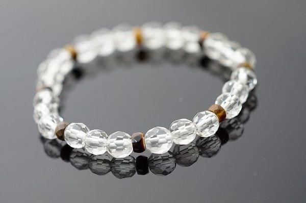 虎眼石&白水晶:集合所有寶石的力量,據說有助於重燃信心,維持心情平靜,改善負向磁場。A76