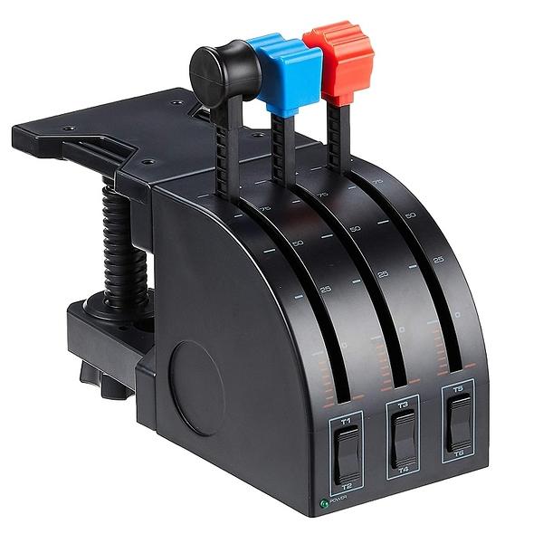[2美國直購] Logitech Pro 飛行搖桿 Flight Throttle Quadrant 適用PC