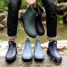 則享雨鞋男士中筒夏季膠鞋男防水輕便耐磨廚房水鞋男雨靴短筒套鞋 小時光生活館