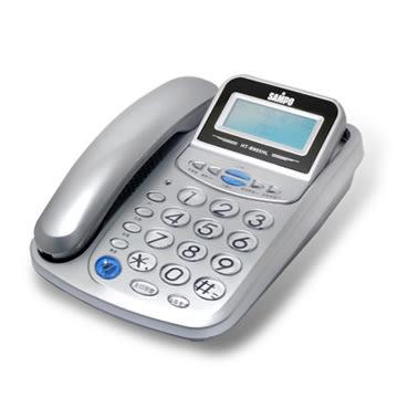 《一打就通》SAMPO聲寶來電顯示有線電話 HT-B905HL~新潮流風。極簡時尚~