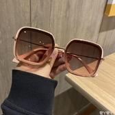 墨鏡2020新款復古大框方形茶色墨鏡女網紅街拍大臉顯瘦防紫外線太陽鏡