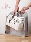 透明包包收納袋布藝透氣家用衣櫥收納架裝衣柜收納皮包防塵袋掛袋-Ifashion