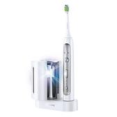 飛利浦 Sonicare FlexCare Platinum 充電式牙刷 HX9172【附刷頭2個+旅行盒+殺菌燈】