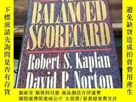 二手書博民逛書店英文原版罕見《平衡計分卡》 The Balanced Scorecard :Translating Strateg