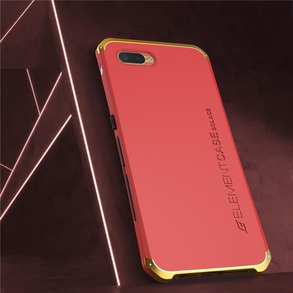 OPPO R11 R11 Plus R11s 金屬手機殼 SOLACE TPU 金屬邊框 個性創意保護套
