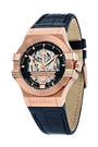 【Maserati 瑪莎拉蒂】/經典LOGO鏤空機械錶(男錶 女錶 Watch)/R8821108002/台灣總代理原廠公司貨兩年保固