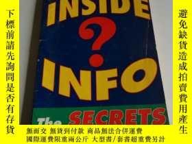二手書博民逛書店INSIDE罕見INFO(英文)Y200392 出版2001