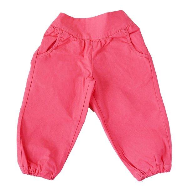 長褲  丹麥 Wheat │ 桃紅縮口長褲 # S141472152