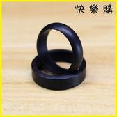 快樂購 戒指 紫光檀木戒指原創手工個性光面素面飾品尾戒尾戒