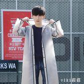中大尺碼雨衣 韓版時尚單人情侶雨衣旅游透明成人徒步男女學生 nm13986【VIKI菈菈】