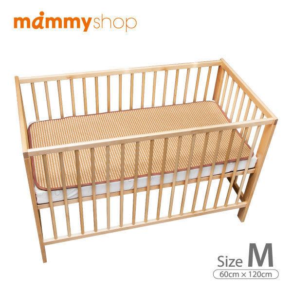 媽咪小站 3D天然纖維柔藤墊-嬰兒中床墊- 58x118cm-M尺寸專用