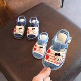 千層底涼鞋夏季1-2-3歲寶寶純手工布鞋室內防滑嬰幼兒童鞋 桃園百貨